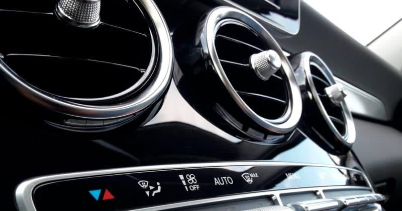 Auton ilmastointikanavat
